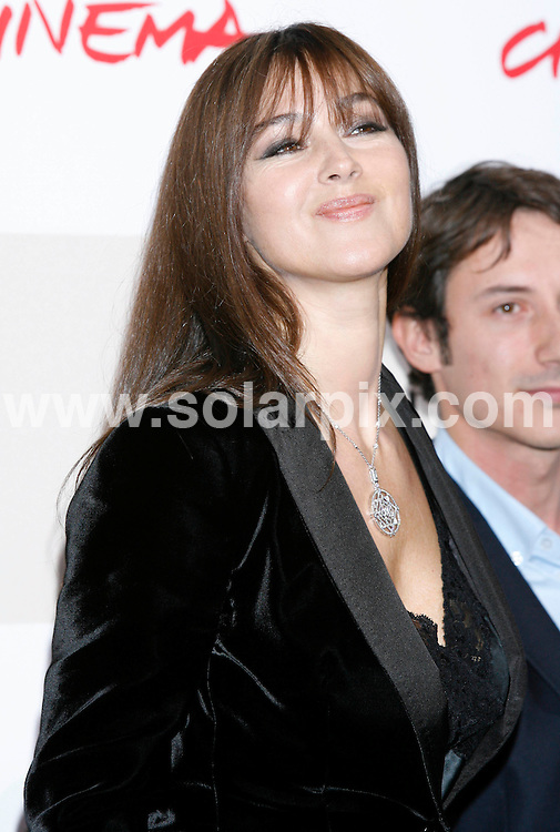 **ALL ROUND PICTURES FROM SOLARPIX.COM**.**SYNDICATION RIGHTS FOR UK AND SPAIN ONLY**.Monica Bellucci attends Rome film Festival 2008....JOB REF: 7679         CPR        DATE:23.10.08.**MUST CREDIT SOLARPIX.COM OR DOUBLE FEE WILL BE CHARGED* *UNDER NO CIRCUMSTANCES IS THIS IMAGE TO BE REPRODUCED FOR ANY ONLINE EDITION WITHOUT PRIOR PERMISSION*