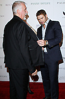 "WEST HOLLYWOOD, CA, USA - FEBRUARY 27: James Cameron, Kellan Lutz at the 5th Anniversary Celebration Of Suzy Amis Cameron's Ecofashion Campaign ""Red Carpet Green Dress"" held at Palihouse on February 27, 2014 in West Hollywood, California, United States. (Photo by David Acosta/Celebrity Monitor)"