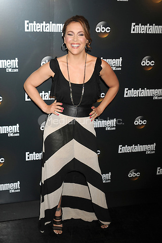 Alyssa Milano attends the Entertainment Weekly & ABC-TV Up Front VIP Party at Dream Downtown on May 15, 2012 in New York City. Credit: Dennis Van Tine/MediaPunch