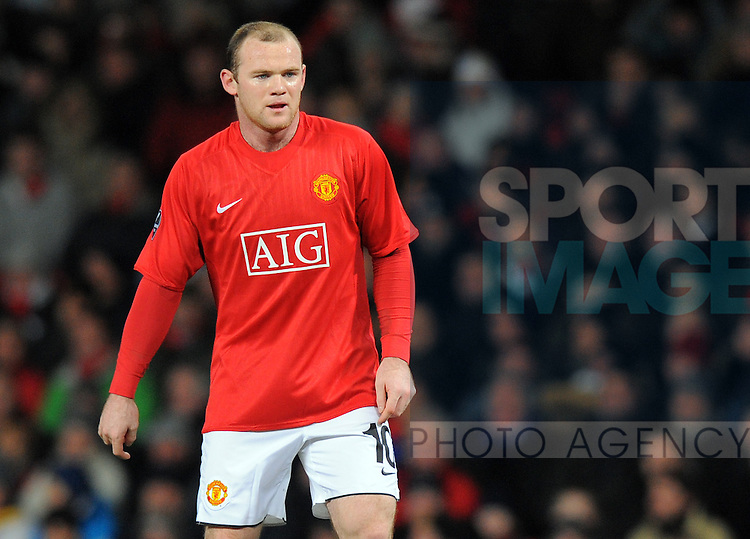 Wayne Rooney of Manchester United