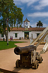 Old cannon in Washington Square, Old Town San Diego State Historic Park, San Diego, California