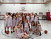 Coquille 8th Grade Girls Basketball goof-off pic