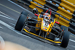 Mitsunori Takaboshi races the Formula 3 Macau Grand Prix during the 61st Macau Grand Prix on November 15, 2014 at Macau street circuit in Macau, China. Photo by Aitor Alcalde / Power Sport Images