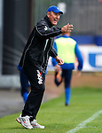 Terry Butcher shouts from the touchlines