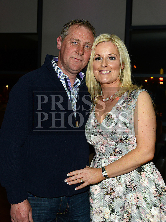 Rosemary Arnold celebrating her 40th birthday in Brú with her husband Kevin. Photo:Colin Bell/pressphotos.ie