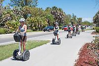 Segway tours on Sanibel island, Florida, USA ... photo by debi pittman wilkey