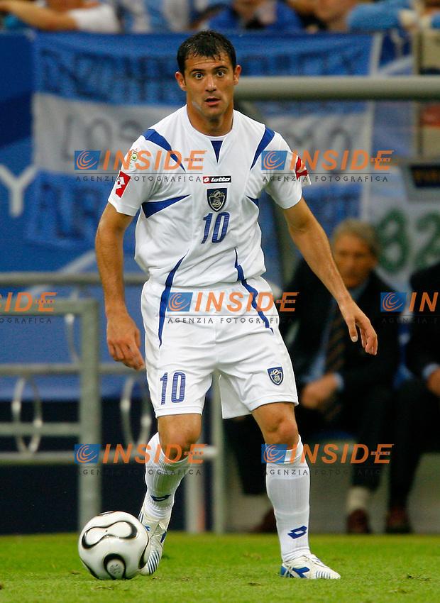 Gelsenkirchen 16/6/2006 World Cup 2006.Argentina Serbia & Montenegro 6-0.Photo Andrea Staccioli Insidefoto.Dejan Stankovic Serbia