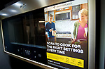 WATERBURY , CT-011519JS01- A Whirlpool smart microwave on display at Allstar Appliance in Waterbury on Tuesday. <br /> Jim Shannon Republican American