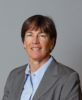 Tara VanDerveer with Stanford Women's basketball team. Photo taken on Wednesday, October 2, 2013