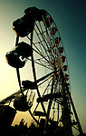 The Big wheel at dusk, Isle of Wight festival