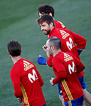 Spain's Gerard Pique during training session. March 20,2017.(ALTERPHOTOS/Acero)