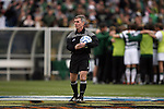 11 December 2011: Referee Michael Kennedy. The University of North Carolina Tar Heels defeated the University of North Carolina Charlotte 49ers 1-0 at Regions Park in Hoover, Alabama in the NCAA Division I Men's Soccer College Cup Final.