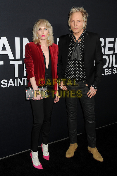10 February 2016 - Los Angeles, California - Ace Harper, Matt Sorum. Saint Laurent At The Palladium held at the Hollywood Palladium. <br /> CAP/ADM/BP<br /> &copy;BP/ADM/Capital Pictures