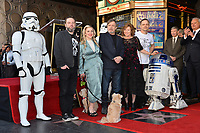 Mark Hamill, Marilou York &amp; Family at the Hollywood Walk of Fame Star Ceremony honoring actor Mark Hamill, Los Angeles, USA 08 March 2018<br /> Picture: Paul Smith/Featureflash/SilverHub 0208 004 5359 sales@silverhubmedia.com