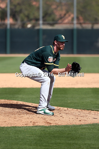 John Axford - Oakland Athletics 2016 spring training (Bill Mitchell)