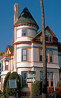 San Diego: Britt House, Restored, 1985. Queen Anne Victorian, 1889. Photo '85.
