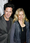 """BEVERLY HILLS, CA. - November 13: Actor Rob Morrow and wife Debbon Ayer arrive at the Los Angeles Premiere of """"Milk"""" at the Academy of Motion Pictures Arts and Sciences on November 13, 2008 in Beverly Hills, California."""
