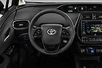 Car pictures of steering wheel view of a 2019 Toyota Priush Lounge 4 Door Hatchback Steering Wheel