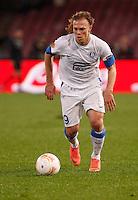 NAPOLI 08/11/2012 - GRUPPO F UEFA  EUROPA LEAGUE.INCONTRO NAPOLI - DNIPRO.NELLA FOTO Nikola Kalinic.FOTO CIRO DE LUCA