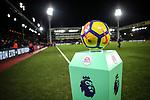 The winter Premier League ball during the premier league match at Selhurst Park Stadium, London. Picture date 12th December 2017. Picture credit should read: David Klein/Sportimage