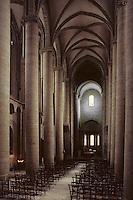 Europe/France/Limousin/19/Corrèze/Pays de Brive/Brive-la-Gaillarde: Eglise Saint Martin - Nef du XIVème