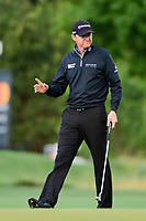 Jimmy Walker (USA) after sinking his putt on 12 during round 1 of the Shell Houston Open, Golf Club of Houston, Houston, Texas, USA. 3/30/2017.<br /> Picture: Golffile | Ken Murray<br /> <br /> <br /> All photo usage must carry mandatory copyright credit (&copy; Golffile | Ken Murray)