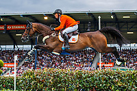 NED-Willem Greve rides Zypria S during the Mercedes-Benz CSIO5* Nationenpreis. 2019 GER-CHIO Aachen Weltfest des Pferdesports. Thursday 18 July. Copyright Photo: Libby Law Photography