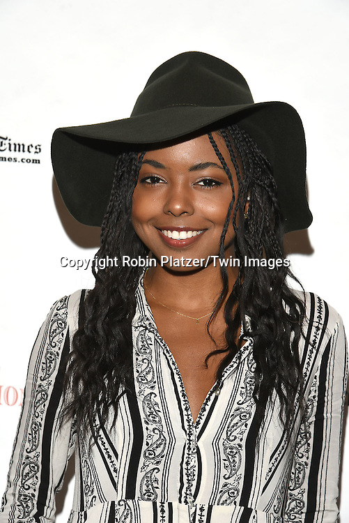 Adrienne Warren attends the Broadway Cares/Equity Fights Aids Flea Market and Grand Auction on September 25, 2016 at the Music Box Theatre and in Shubert Ally in New York, New York, USA. <br /> <br /> photo by Robin Platzer/Twin Images<br />  <br /> phone number 212-935-0770