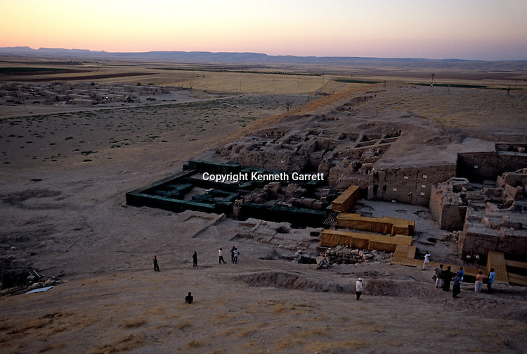 Urkesh, Hurrian Empire, Syria, 2400 BC, Giorgio Buccellati, palace excavation