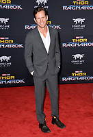 Kip Pardue at the premiere for &quot;Thor: Ragnarok&quot; at the El Capitan Theatre, Los Angeles, USA 10 October  2017<br /> Picture: Paul Smith/Featureflash/SilverHub 0208 004 5359 sales@silverhubmedia.com