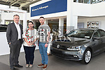 Aidan Reynolds, Louise Conaghy and Robbie Matthews Western Motors. Photo:Colin Bell/pressphotos.ie