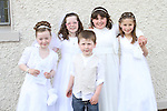 a Bellewstown NS Communion...(Photo credit should read Jenny Matthews www.newsfile.ie)....This Picture has been sent you under the conditions enclosed by:.Newsfile Ltd..The Studio,.Millmount Abbey,.Drogheda,.Co Meath..Ireland..Tel: +353(0)41-9871240.Fax: +353(0)41-9871260.GSM: +353(0)86-2500958.email: pictures@newsfile.ie.www.newsfile.ie.