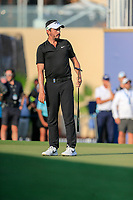 Mike Lorenzo-Vera (FRA) on the 18th green during the final round of the DP World Tour Championship, Jumeirah Golf Estates, Dubai, United Arab Emirates. 24/11/2019<br /> Picture: Golffile | Fran Caffrey<br /> <br /> <br /> All photo usage must carry mandatory copyright credit (© Golffile | Fran Caffrey)