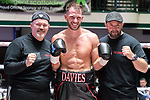 Chris Davies vs Curtis Gargano 4x3 - Light Heavyweight Contest During Goodwin Boxing - Date With Destiny. Photo by: Simon Downing.<br /> <br /> Saturday September 23rd 2017 - York Hall, Bethnal Green, London, United Kingdom.