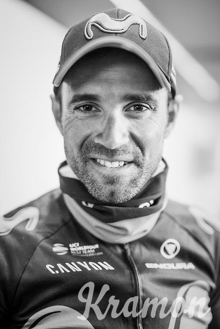 Alejandro Valverde (ESP/Movistar) won his 5th Fl&eacute;che<br /> <br /> 81st La Fl&egrave;che Wallonne (1.UWT)<br /> One Day Race: Binche &rsaquo; Huy (200.5km)