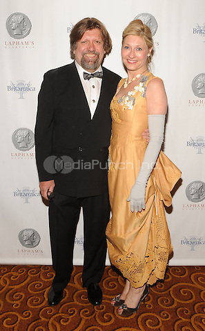 New York,NY-JUNE 02: Oscar Eustis, Lori Eustis attends Lapham's Quarterly Decades Ball: The 1870s at Gotham Hall In New York City on June 2, 2014. Credit: John Palmer/MediaPunch