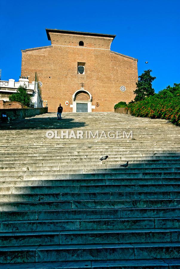 Igreja Santa Maria in Aracoeli. Roma. Itália. 2006.  Foto Luciana Whitaker.