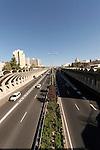 Israel, Jerusalem, Menachem Begin Highway<br />