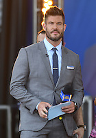 NEW YORK, NY - JULY 8: Jesse Palmer on ABC's 'Good Morning America' at SummerStage at Rumsey Playfield, Central Park on July 8, 2016 in New York City. Credit: John Palmer / MediaPunch