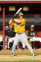 Jake Schilling (31) of the SUNY Sullivan Generals at bat against the County College of Morris Titans on the campus of County College of Morris on April 9, 2013 in Randolph, New Jersey.  The Titans defeated the Generals 12-4.  (Brian Westerholt/Four Seam Images)