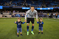 San Jose, CA - Saturday September 16, 2017: Marco Ureña after a Major League Soccer (MLS) match between the San Jose Earthquakes and the Houston Dynamo at Avaya Stadium.