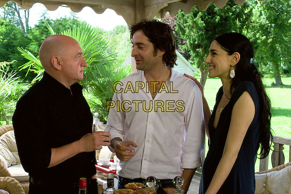 MICHEL BLANC, MATHIEU DEMY & RONIT ELKABETZ.in The Girl on The Train (La Fille du RER).*Filmstill - Editorial Use Only*.CAP/FB.Supplied by Capital Pictures.