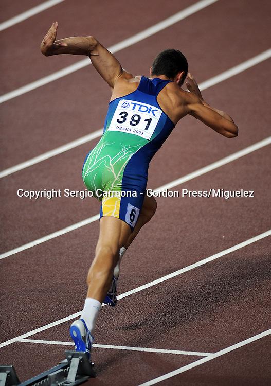 11th IAAF World Championships,Osaka 2007..Decathlon/ Carlos Eduardo Chinin (BRA).