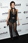 Alessandra Ambrosio arriving at Amfar's Inspiration Gala held at Milk Studios in Los Angeles, CA. October 29, 2015