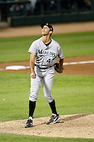 Steve Cishek - Phoenix Desert Dogs - 2010 Arizona Fall League.Photo by:  Bill Mitchell/Four Seam Images..