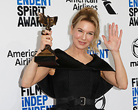 LOS ANGELES - FEB 8:  Renee Zellweger at the 2020 Film Independent Spirit Awards at the Beach on February 8, 2020 in Santa Monica, CA