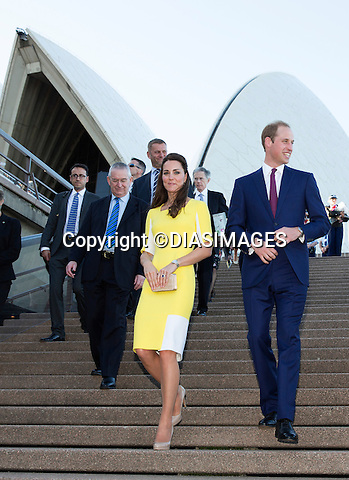&quot;NO UK USE UNTIL 13th May 2014&quot;<br /> <br /> SYDNEY- AUSTRALIA - 16-APR-2014: KATE &amp; PRINCE WILLIAM<br /> attend a civic reception at the Sydney Opera House. <br /> On arrival the royal couple stopped in front of the Sydney Harbour Bridge, attended the reception and met locals on a walkabout outside.<br /> Mandatory Photo Credit: &copy;DIASIMAGES<br /> <br /> IMMEDIATE CONFIRMATION OF USAGE REQUIRED:<br /> DiasImages, 31 Chinnery Hill, Bishop's Stortford, ENGLAND CM23 3PS<br /> Tel:+441279 324672  ; Fax: +441279656877<br /> Mobile:  0777568 1153