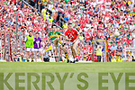 Kerry v  Cork in the Munster Senior Football Final in Fitzgerald Stadium in Killarney on Sunday.