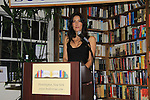 "Another World's Alicia Coppola speaks and signs her book ""Gracefully Gone"" - a fusion of two journals: her father Matthew L. Coppola Sr. and hers - on August 23, 2013 at Book Revue, Huntington, New York. (Photo by Sue Coflin/Max Photos)"