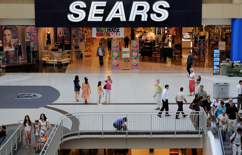Sears Mall Entrance, Toronto Eaton Centre